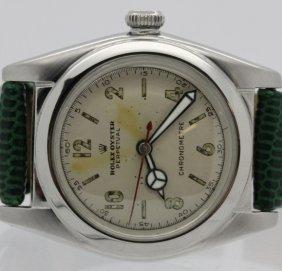 Gents Vintage Rolex Bubble Back S/s Wrist Watch