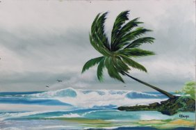 Rodney Demps American Highwaymen Painting