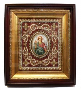 Russian Icon 'guardian Angel'