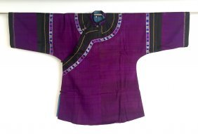 A Chinese Handwoven Cotton Coat