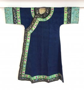A Chinese Silk Woman's Robe