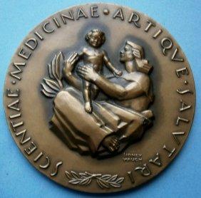 1958 Sidney Waugh Advertising Bronze Medallion