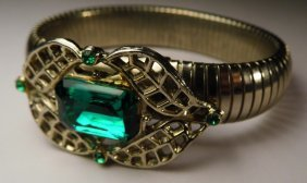 Art Deco Custom Costume Bracelet Beauty