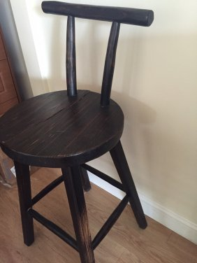 Two Wood High Chair