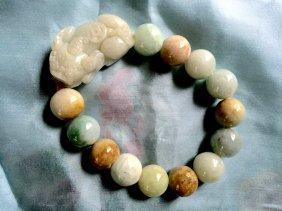 A Chinese Jade Bracelace