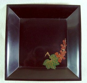 A 20th Centuryjapanese Lacquer Tray - Taisho/showa