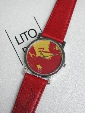 Montre Bernard Rancillac Et Lito Jazz, 1989 Bracelet