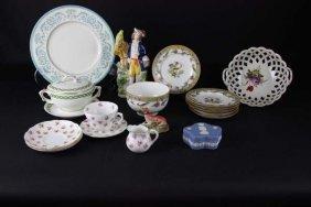 A Quantity Of Decorative Ceramics Including A