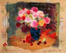 Alexander Wissotsky, Abundance, Signed Serigraph