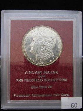 Rare 1879-s Morgan Silver Dollar - Redfield Hoard