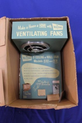 Nu Tone Ventilating Fans Store Display Working Sample