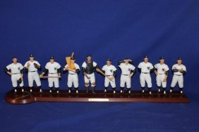 1961 Yankee's Cooperstown Collection - Display W/