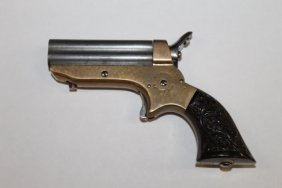 1859 Sharps 4 Barrel Pepperbox Pocket Pistol W/