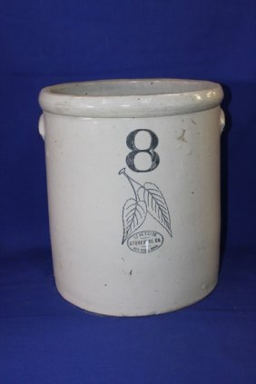 8 Gallon Union Stoneware Crock