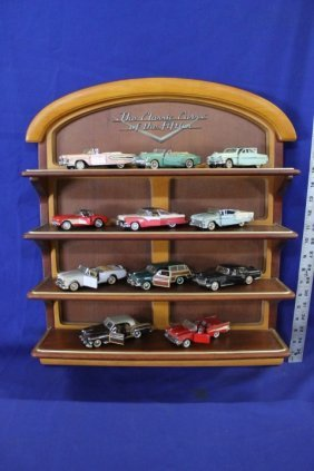 Set: Franklin Mint Precision Classic Cars Of The 50's