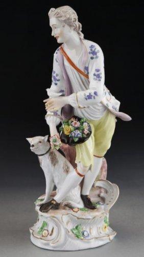 German Fulda Porcelain Figure Attr. To Bartolomae,