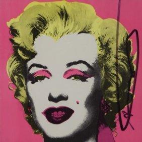 "Andy Warhol ""marilyn (castelli Invitation)"" Color"