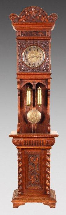 Gustav Becker Grandfather Clock