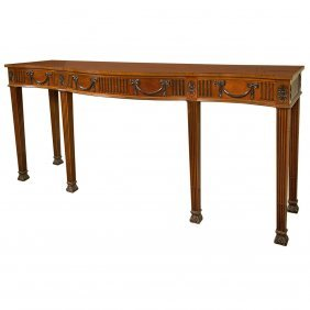 Console Table Attrib. To Schmeig And Kotesian