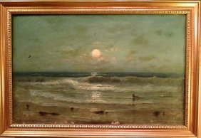 F. Eastman Jones Oil On Canvas