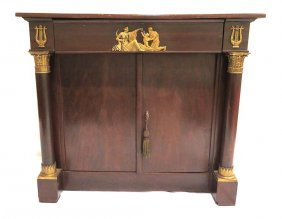 French Empire Cabinet