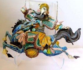 Turkish Warrior On A Horse