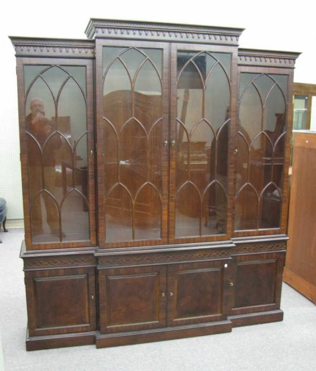 vintage henredon china cabinet 1