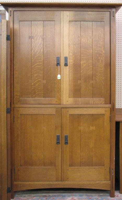 Stickley Entertainment Unit Armoire Lot 857