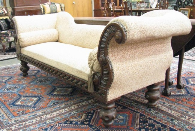 Antique french empire style divan lot 664 for Divan in french