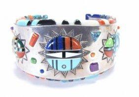 E. Benally Sterling Silver Cuff Bracelet