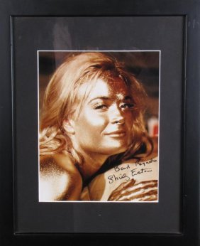 Shirley Eaton Signed Headshot