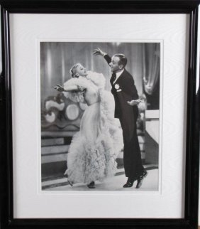 Fred Astaire, Ginger Rogers Signed Photo