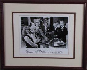Frank Thornton, Nicholas Smith Signed Photo