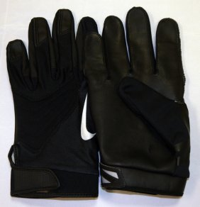Colin Cole Player Used Gloves - Signed Panther/seahawk