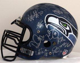 Seattle Seahawks Helmet - 2011/12 Roster