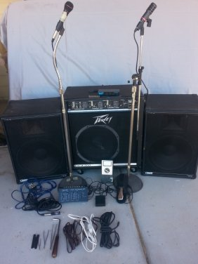 Complete Sound System With Accessories
