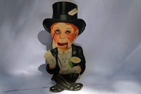 Vintage Charlie Mccarthy Ventriloquist Paper Puppet