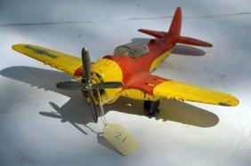 Vintage Hubley Flying Circus Single Engine Plane