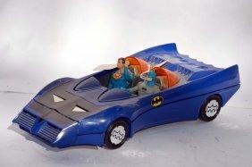 Vintage Dc Comics Batmobile And Figures