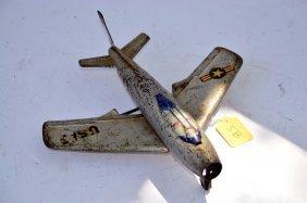Vintage Marx Usaf Airplane