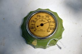 Antique Tel-tru Room Thermometer
