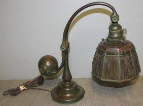 TIFFANY STUDIOS. Counter Balance Desk Lamp