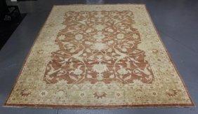 Handmade Roomsize Serapi Style Carpet.