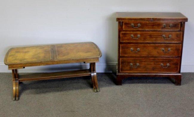 Vintage Baker Lot Of Mahogany Furniture Lot 137