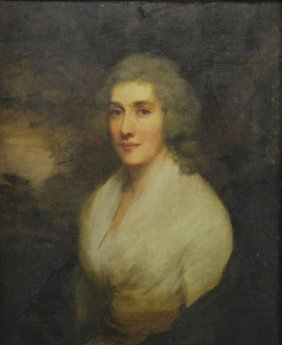 Raeburn, Henry. Oil On Canvas. Portrait Of Miss