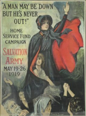 Duncan, Frederick. Salvation Army Poster.