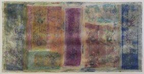 Erla, Karen. Large Mixed Media On Paper. Abstract