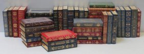 """Leather Book Lot, Easton Press, """"great Lives"""""""