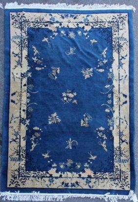 Art Deco Chinese Handmade Carpet.