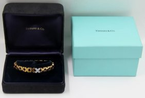 Jewelry. Tiffany & Co. 18kt Gold Bracelet With